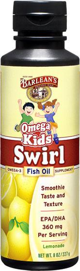 Barleans Kids Omega-3 Swirl